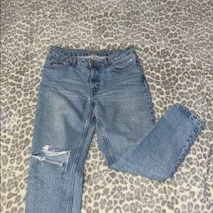 Zara Basic Mom Jeans